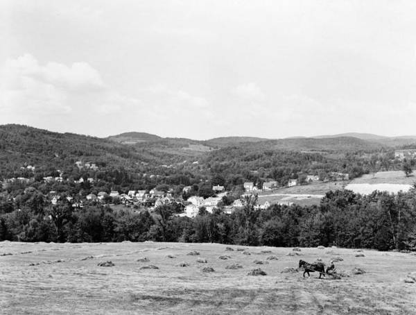 Wall Art - Photograph - Vermont Farming, 1941 by Granger