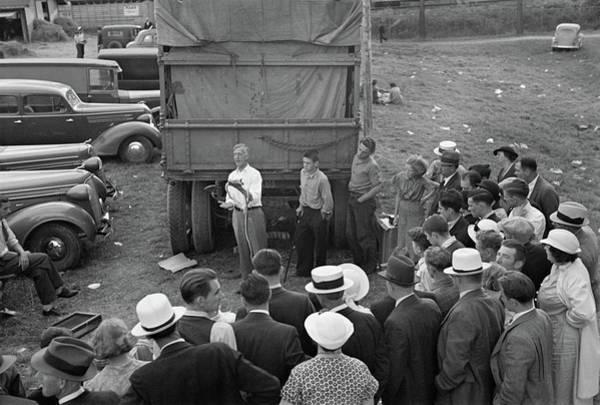 Rutland Photograph - Vermont Medicine Man, 1937 by Granger