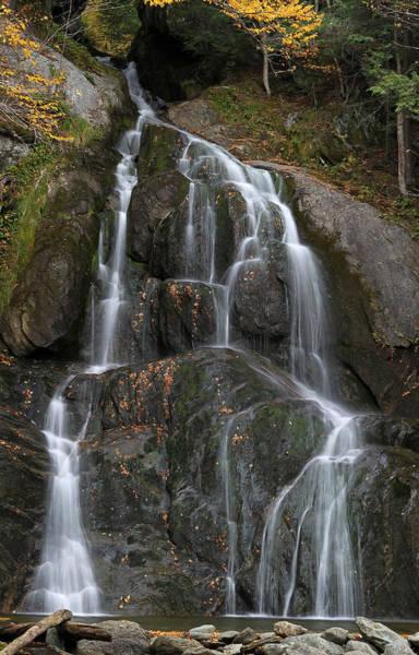 Photograph - Vermont Moss Glen Waterfall by Juergen Roth
