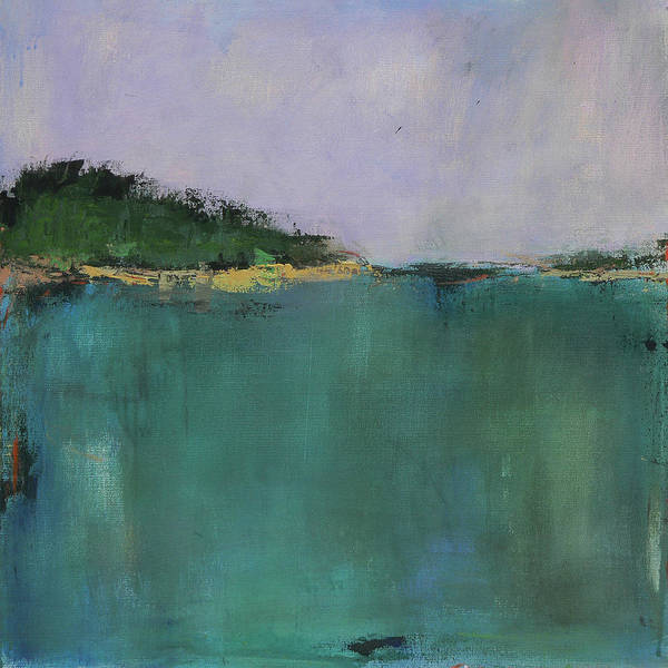 Vt Wall Art - Painting - Vermont Pond II by Jacquie Gouveia