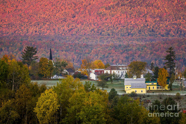 Photograph - Vermont Red Wall 1 by Susan Cole Kelly