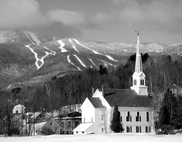 Waitsfield Photograph - Vermont's Mt Ellen by Philip Bobrow