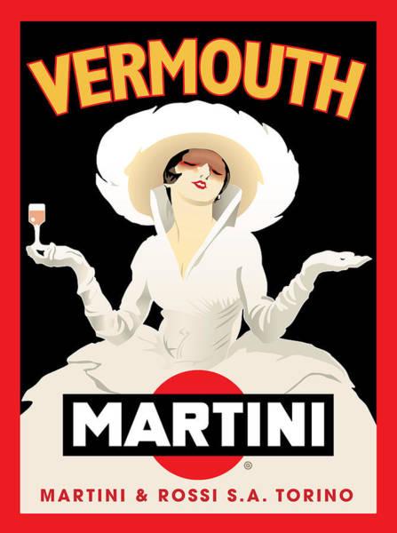 Digital Image Digital Art - Vermouth Martini by Gary Grayson