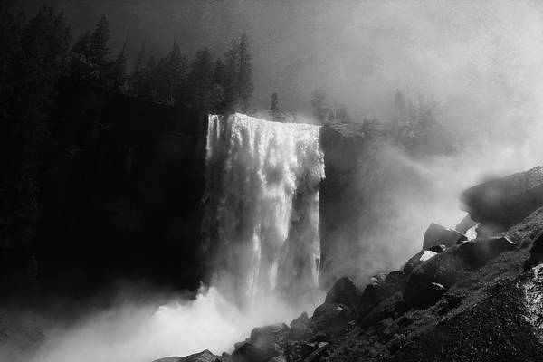 Crash Photograph - Vernal Fall by Raymond Salani Iii