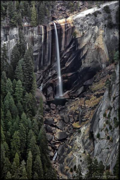 Photograph - Vernal Falls by Erika Fawcett