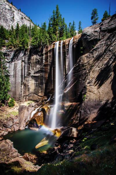 Vernal Fall Photograph - Vernal Falls by Matthew Crowley Photography