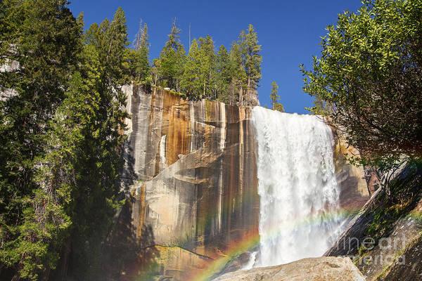 Wall Art - Photograph - Vernal Falls Rainbow by Jane Rix