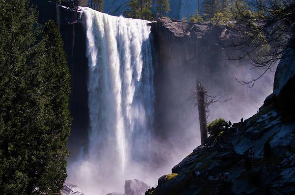 Vernal Fall Photograph - Vernal Falls Yosemite National Park by Chasing Light Photography Thomas Vela
