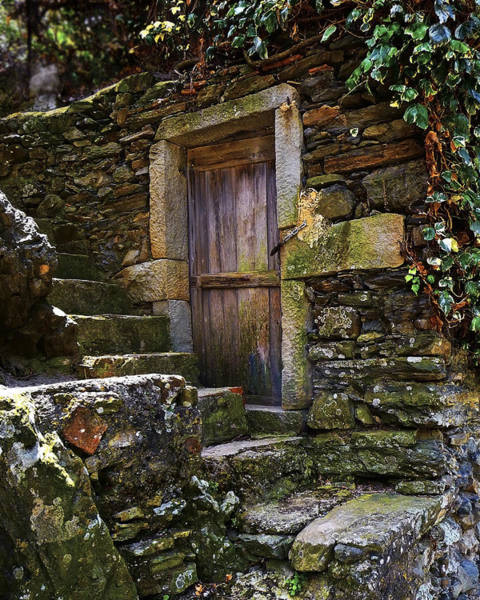 Vernassa Stone Stairway Art Print