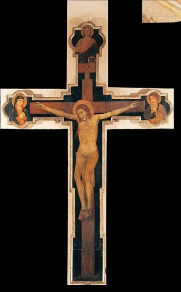 Pantocrator Photograph - Verona Artist, Station Crucifix Crux by Everett