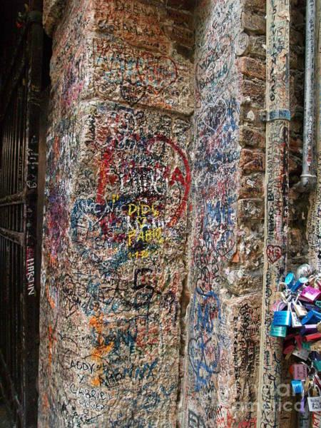Photograph - Verona Italy Locks Of Love by Robin Maria Pedrero