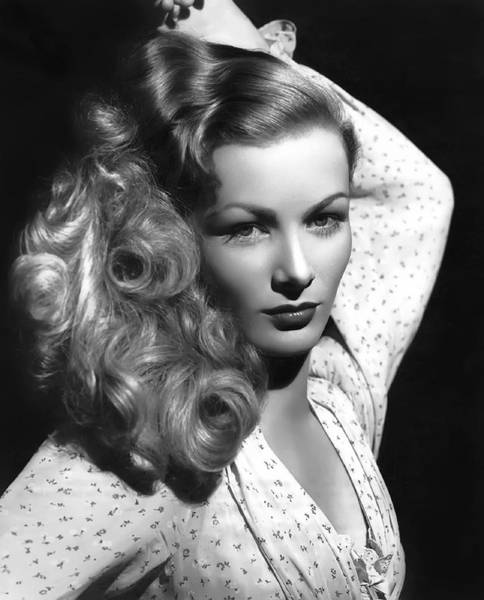 Leading Actress Wall Art - Photograph - Veronica Lake Actress by Daniel Hagerman