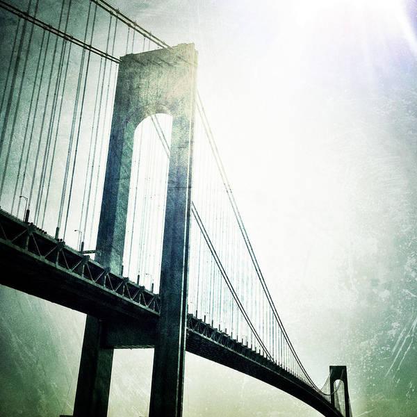 Photograph - Verrazano Bridge by Natasha Marco