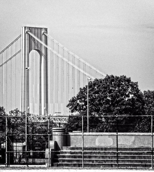 Photograph - Verrazano Grid by Frank Winters