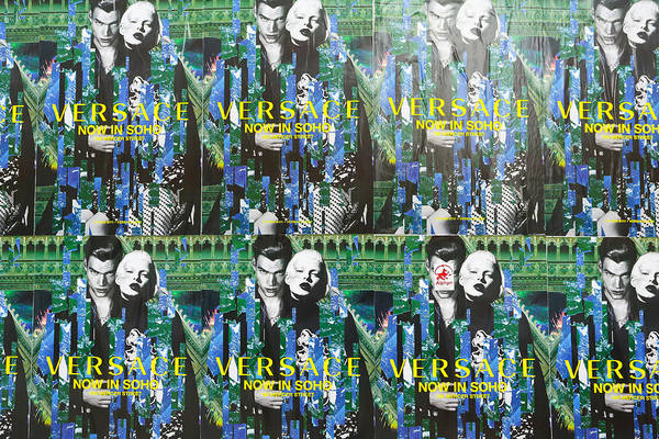 Wall Art - Photograph - Versace In Soho by Jimmy Taaffe