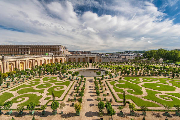 Photograph - Versailles Gardens by Pierre Leclerc Photography