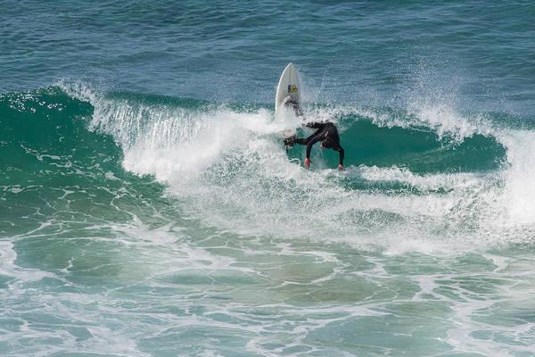Photograph - Vertical Surfboard by Priya Ghose