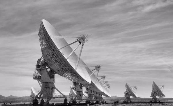 Wall Art - Photograph - Very Large Array Black And White by Dan Sproul