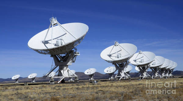 Very Large Array Photograph - Very Large Array Of Radio Telescopes 3 by Bob Christopher