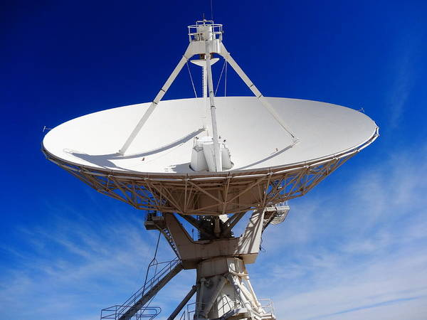 Very Large Array Photograph - Very Large Array On A Summer Day by Dan Sproul