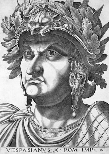 Soldier Drawing - Vespasian , 1596 by Italian School