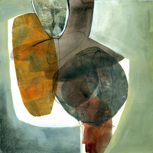 Shapes Painting - Vessel 2 by Jane Davies