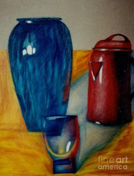 Drawing - Vessels by Jon Kittleson
