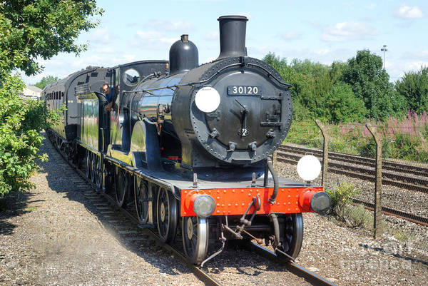Photograph - Steam Locomotive Class T9 30120 by David Birchall