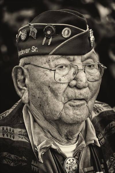 Code Talkers Photograph - Veterans Day Nyc 2012 11 11 12 32 Navajo Code Talker by Robert Ullmann