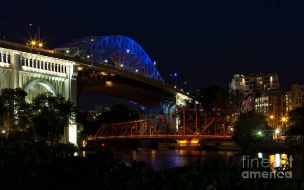 Joshua Clark Photograph - Veteran's Memorial Bridge by Joshua Clark