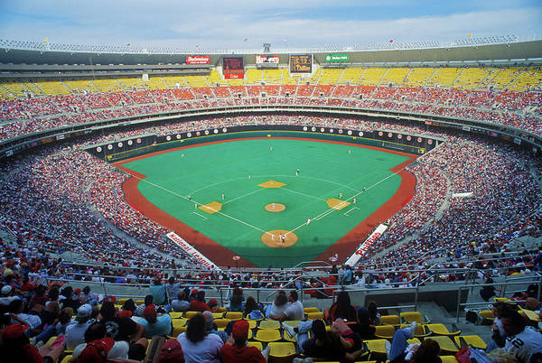 Astro Photograph - Veterans Stadium During Major League by Panoramic Images