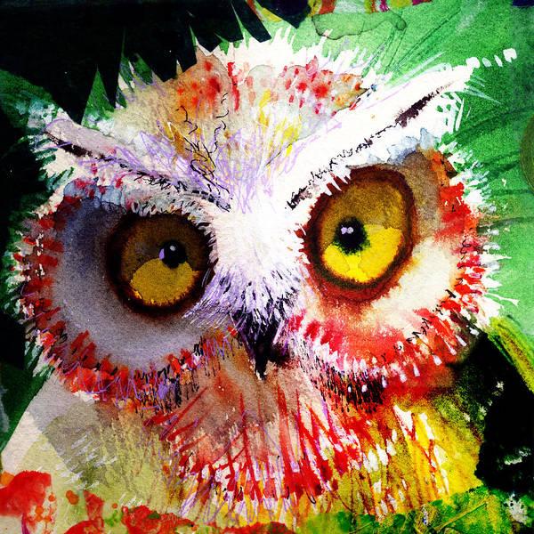 Painting - Vexed by Laurel Bahe