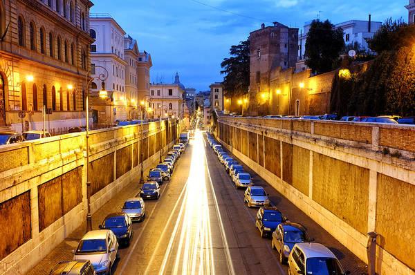 Photograph - Via Degli Annibaldi by Fabrizio Troiani