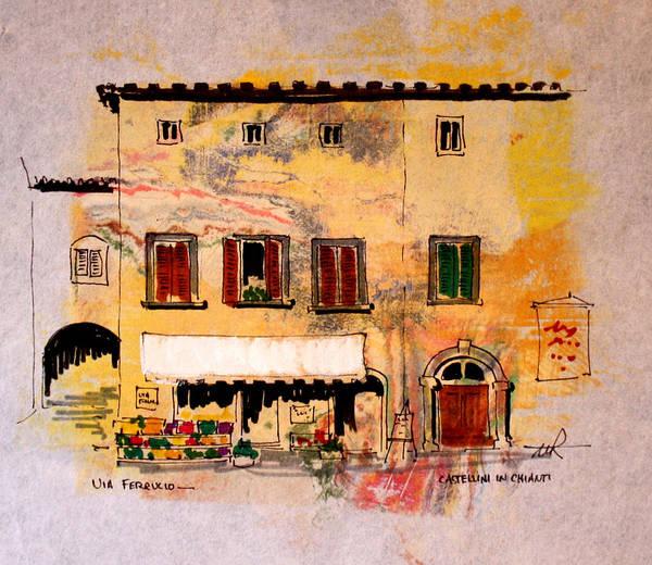 Painting - Via Ferrucio by William Renzulli