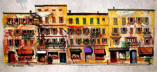 Painting - Via Garibaldi by William Renzulli