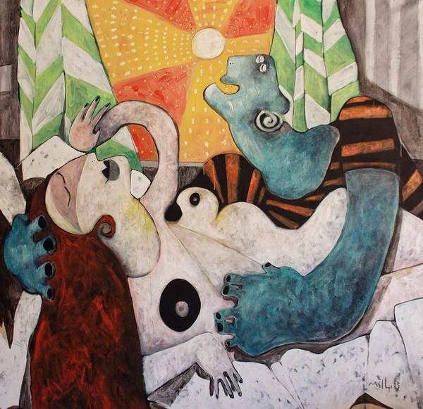 Wall Art - Painting - Via No. 3  by Mark M  Mellon
