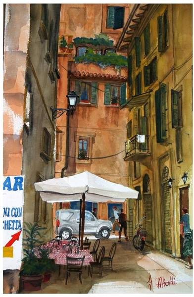 Painting - Via Piacenza by Gerald Miraldi