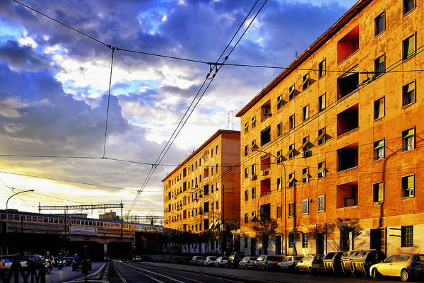 Photograph - Via Prenestina by Fabrizio Troiani