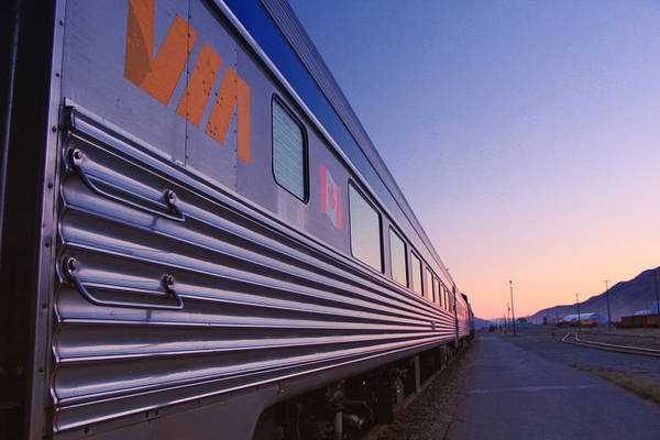 Transport Photograph - Via Rail Across Canada by Freya Doney