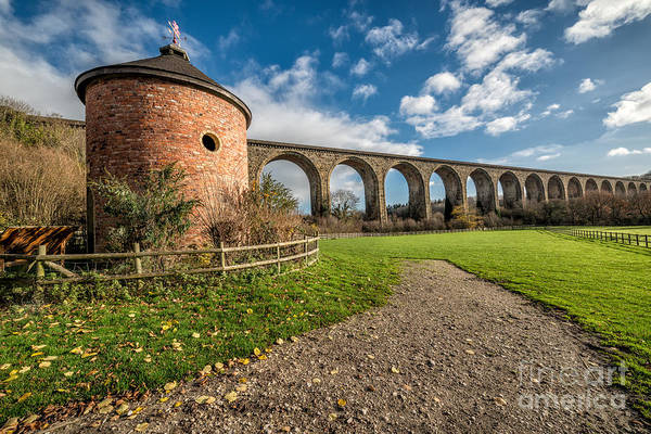 Wall Art - Photograph - Viaduct Ty Mawr Park by Adrian Evans
