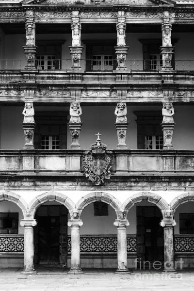 Photograph - Viana Do Castelo Misericordia Building by James Brunker
