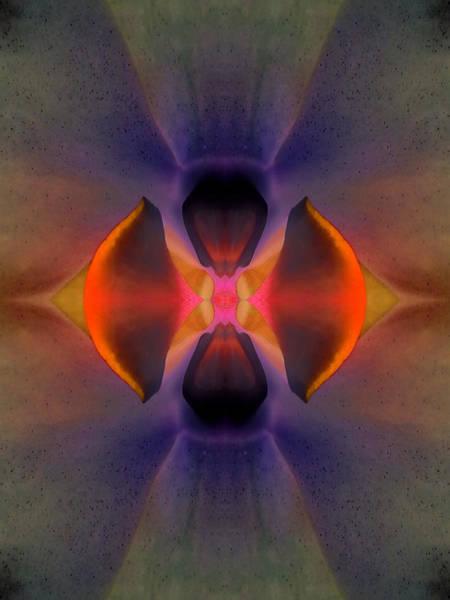 Essence Digital Art - Vibrant Centering Energy  by Marie-Louise Svensson