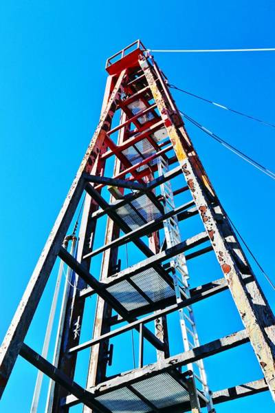 Photograph - Vibrant Tower by Michael Hope