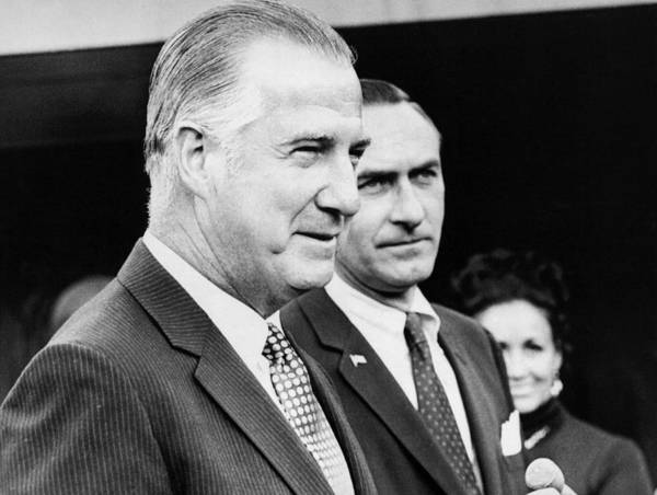 Republican Photograph - Vice President Spiro Agnew by Underwood Archives