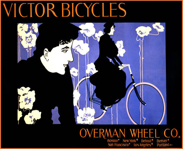 Photograph - Victor Bicycles by Bill Cannon