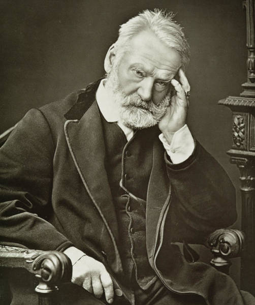 Wall Art - Photograph - Victor Hugo by French Photographer