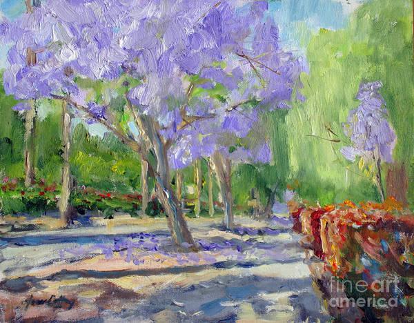 Painting - Victoria  Avenue Walkway by Joan Coffey