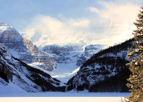 Photograph - Victoria Glacier by Gerry Bates