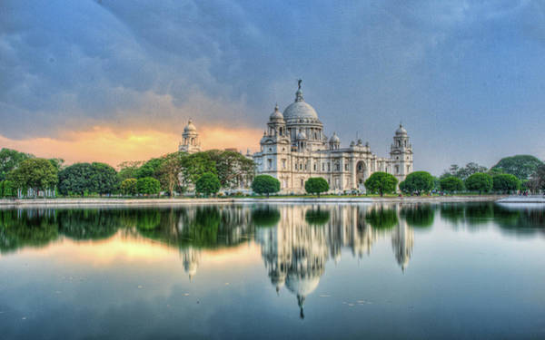 The Past Photograph - Victoria Memorial In Kolkata by Sudiproyphotography