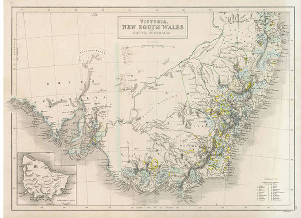 New South Wales Drawing - Victoria, New South Wales, Australia by Mary Evans Picture Library